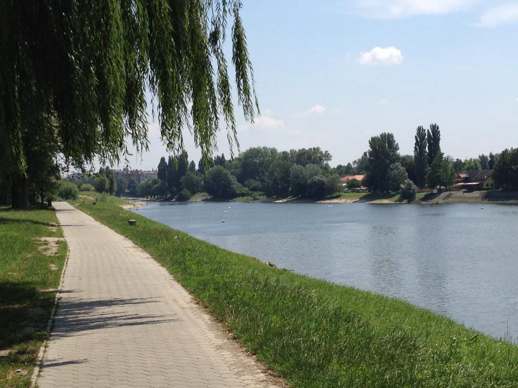 ....und der sehr schöne Uferweg