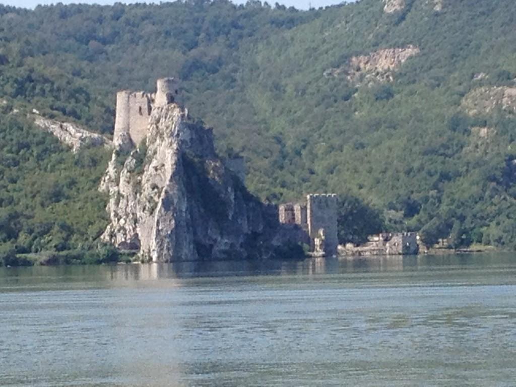 Die Festung Golubac, Beginn des Eisernen Tors