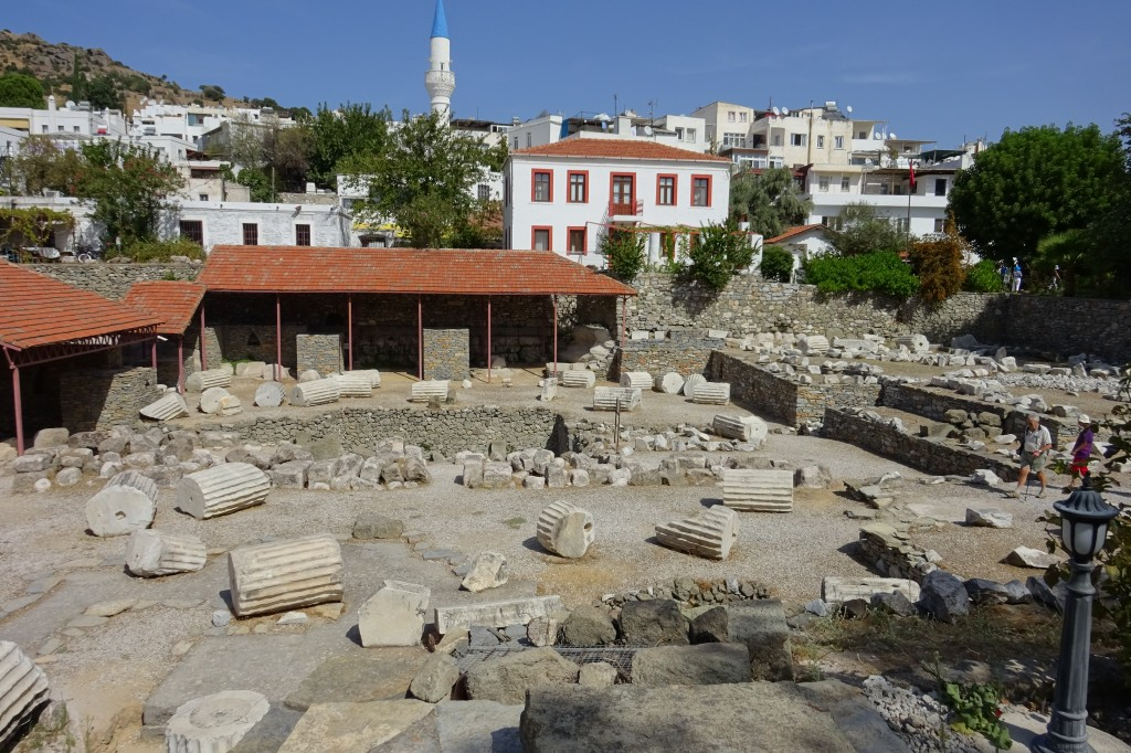 Reste vom Mausoleum
