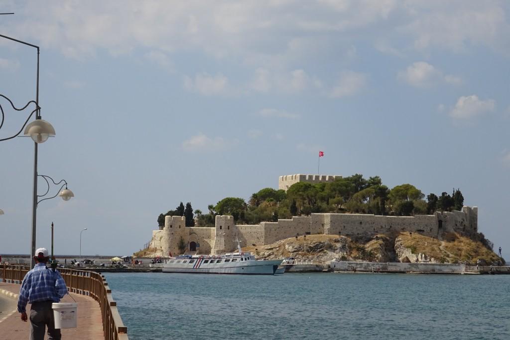 Blick zur Festung...heute ein restaurant..jedoch zur Zeit geschlossen