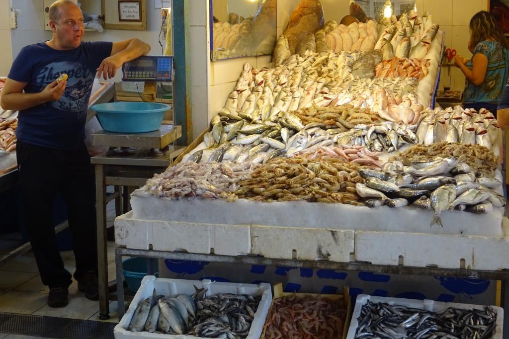 auch den Fischmarkt haben wir uns angesehen