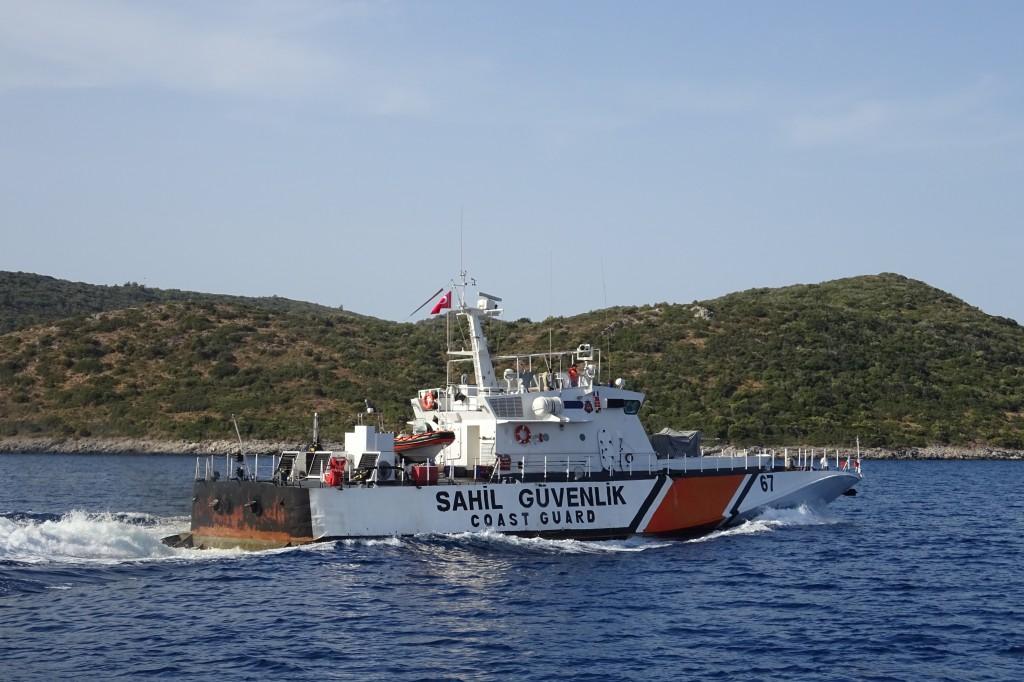 die türkische Küstenwache