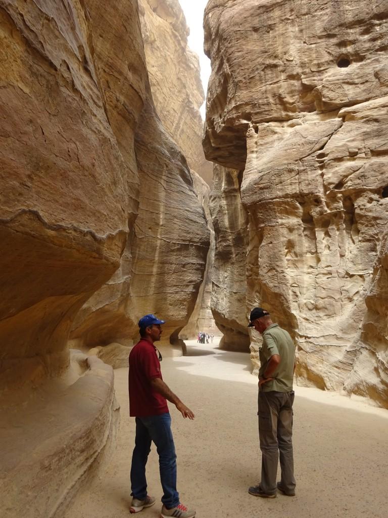 Aqaba, Petra und Wüstenstaub 037
