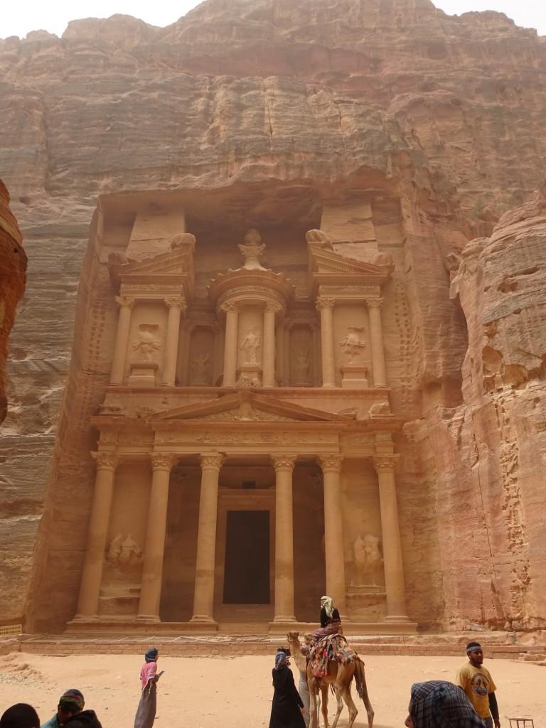 Aqaba, Petra und Wüstenstaub 054