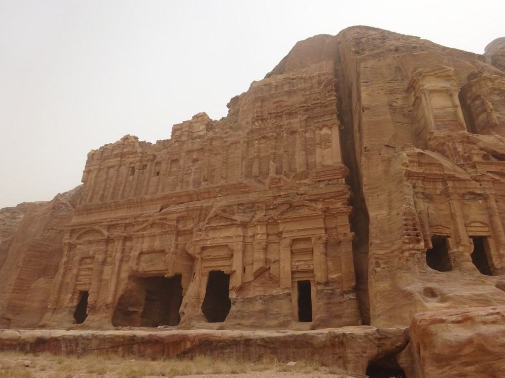 Aqaba, Petra und Wüstenstaub 071