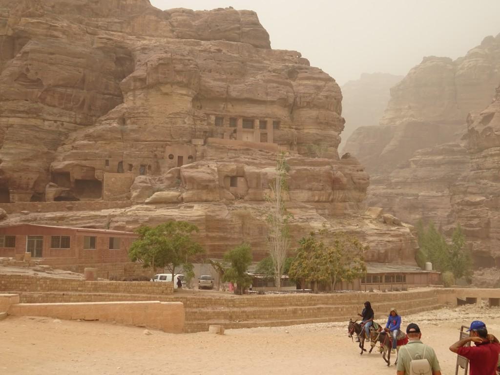 Aqaba, Petra und Wüstenstaub 078