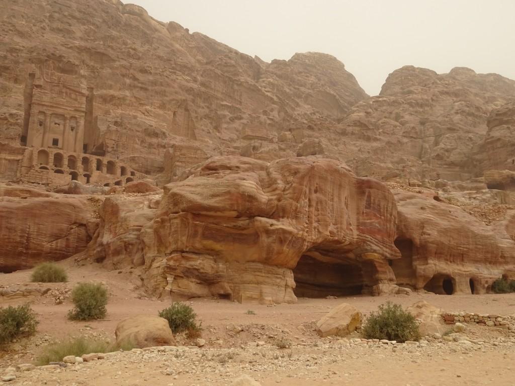 Aqaba, Petra und Wüstenstaub 080