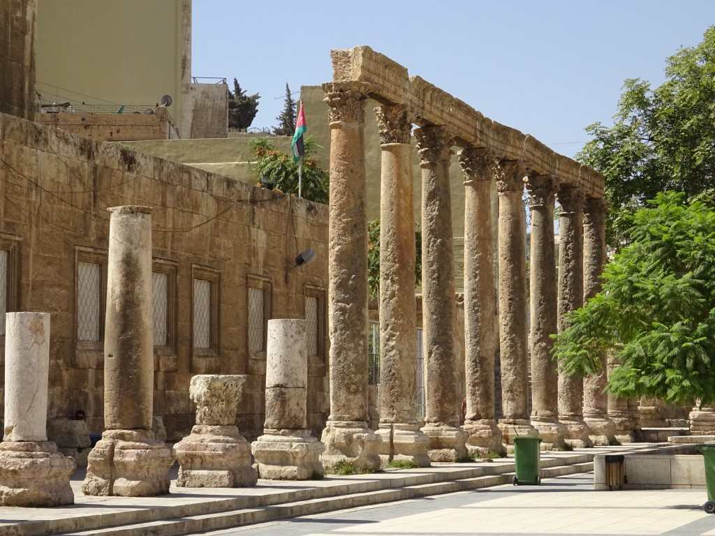 Fahrt nach Amman und die Stadt 065