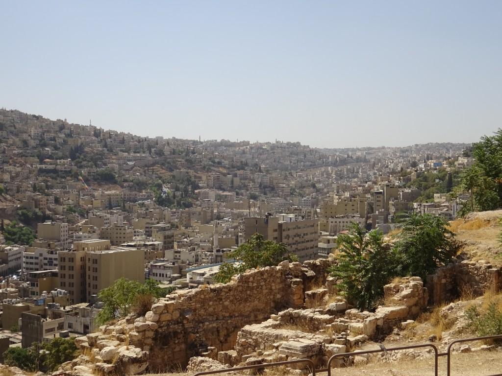 Fahrt nach Amman und die Stadt 070