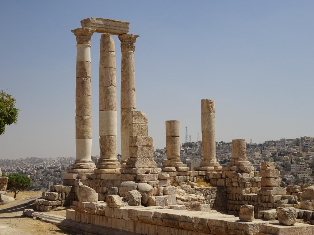 Fahrt nach Amman und die Stadt 099