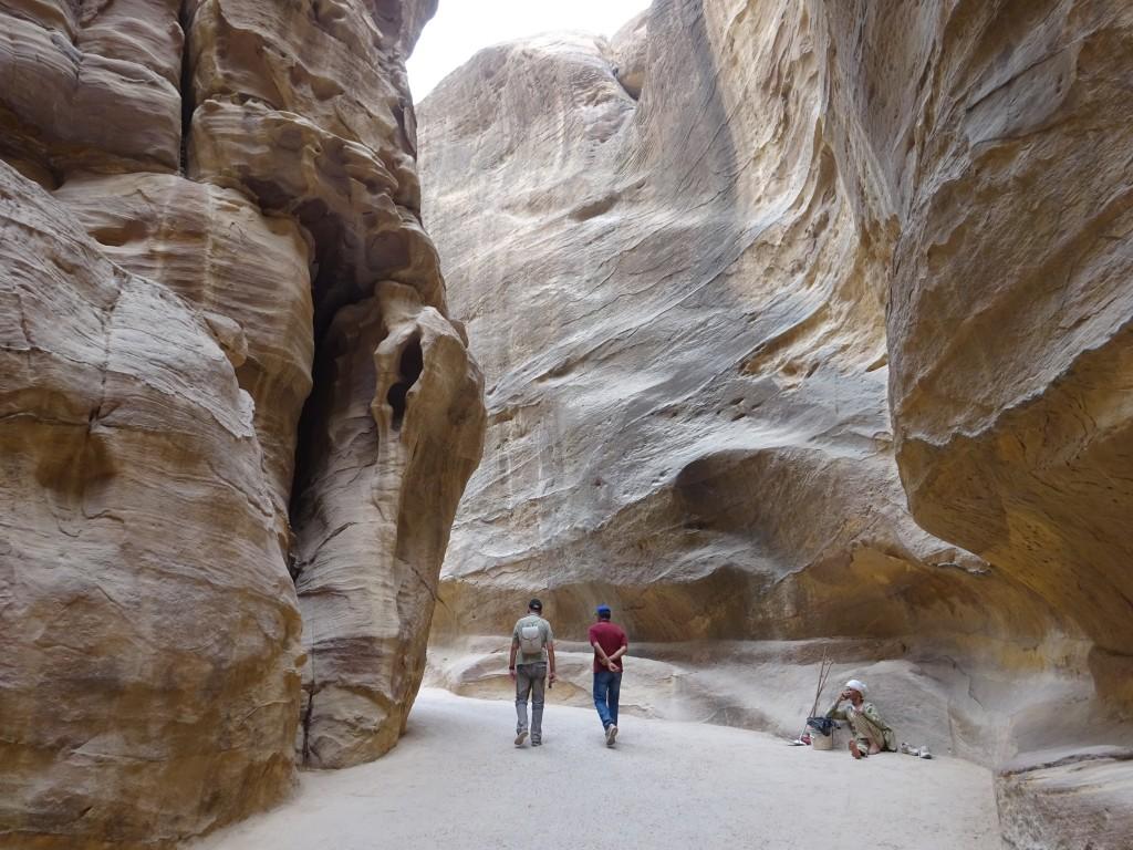 Aqaba, Petra und Wüstenstaub 091